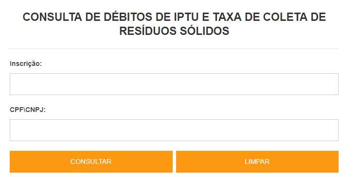Consulta IPTU 2022 Florianópolis