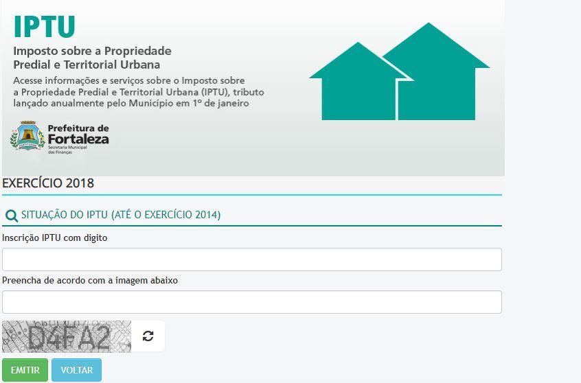 Consulta IPTU Fortaleza