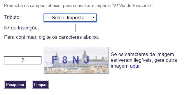 Consulta IPTU Belém
