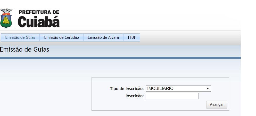 Consulta IPTU Cuiabá